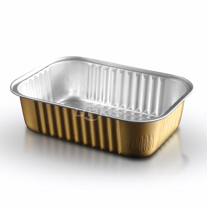 提供铝箔餐盒GH-F500