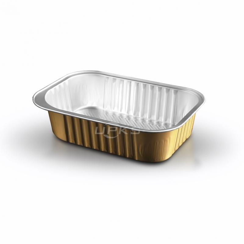 生产铝箔餐盒GH-F450